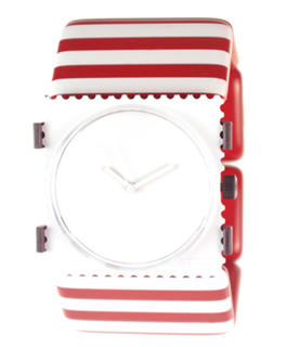 Belta Stripes Red and White