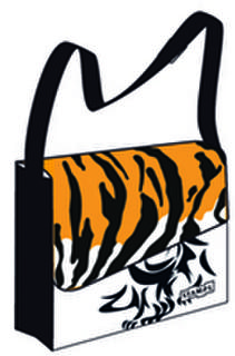 Black Tiger Urban Bag